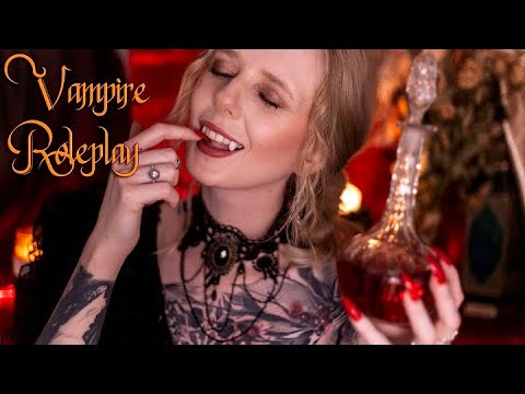 ASMR Vampire - Be Mine Forever! Kind of Kidnapping Roleplay (Soft Spoken)