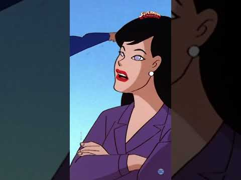 Lois Lane has the best ideas #Shorts | Superman: The Animated Series | DC